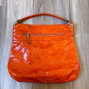 🍊 Cavalcanti Leather Orange Purse
